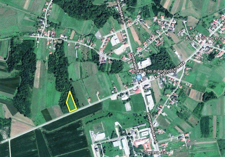 Kerestinec, građ. zemljište 5407 m2