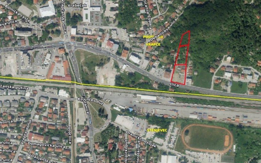 ILICA – VRAPČE, građ. zemljište, 5641 m2