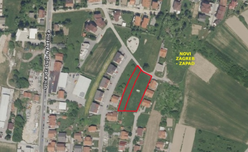 REMETINEC – GR. ZEM. SA PROJEKTOM, 2.783 m2