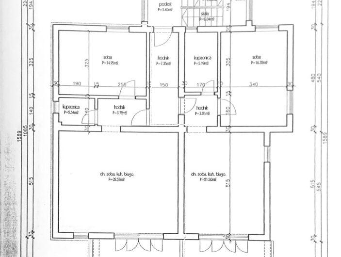 OREBIĆ – kuća sa 5 apartmana, 400m2