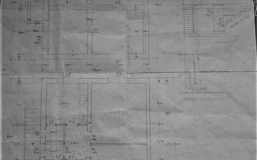 STENJEVEC – kuća sa dva stana, 160m2